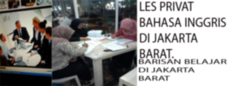 LES PRIVAT BAHASA INGGRIS LES PRIIVAT BAHASA INGGRIS DI JAKARTA BARAT