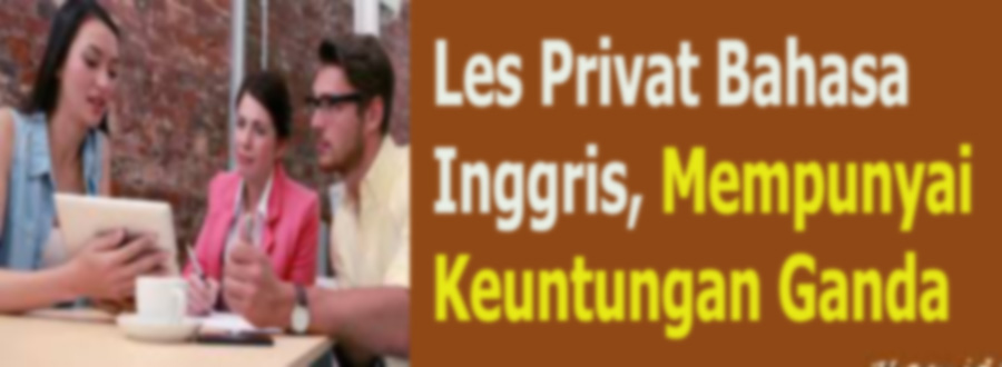 Les Privat Bahasa Inggris
